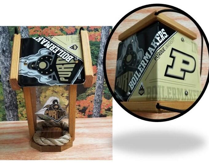 Prudue University Two-Sided Cedar Bird Feeder (SI series)