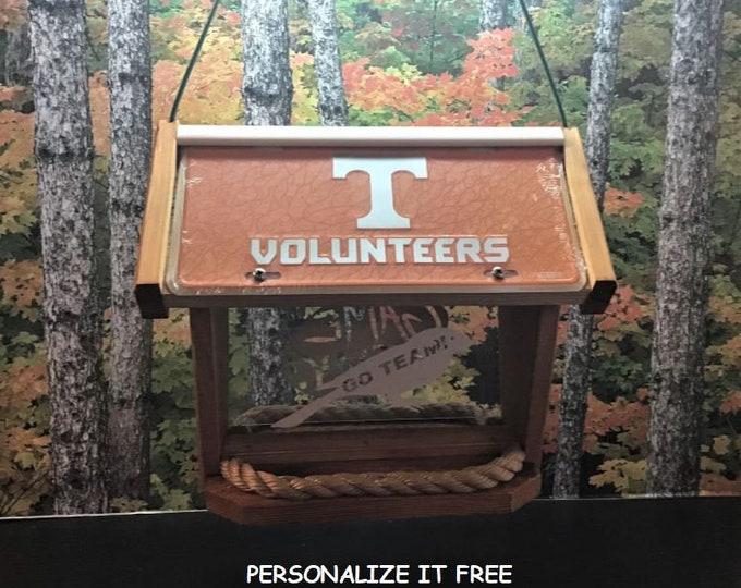 Tennessee Volunteers Deluxe Cedar Two Sided Bird Feeder