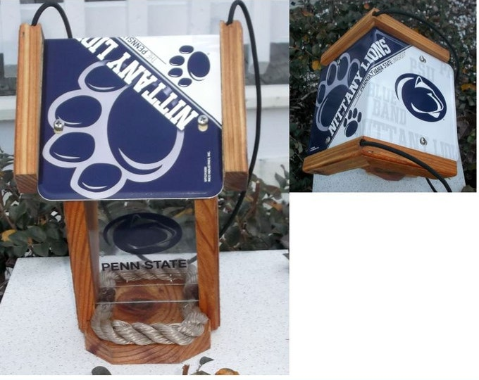 Penn State Two-Sided Cedar Bird Feeder (SI series)