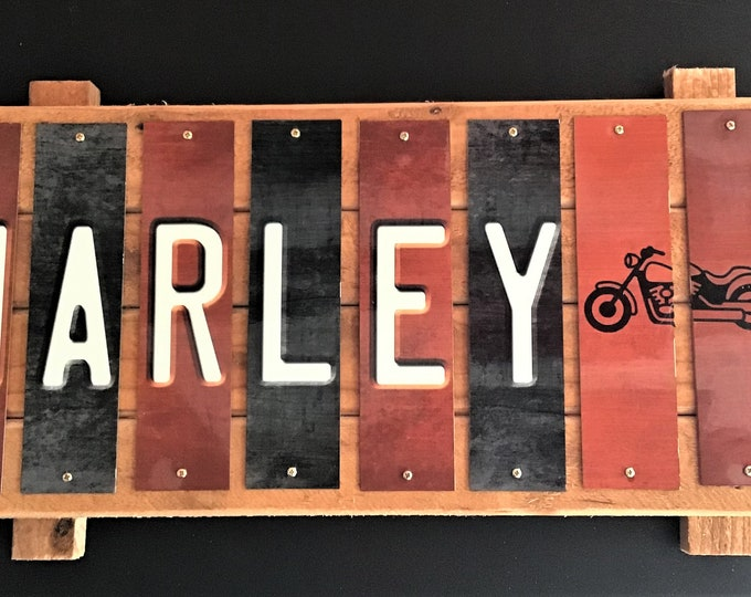 Harley  Strip Sign
