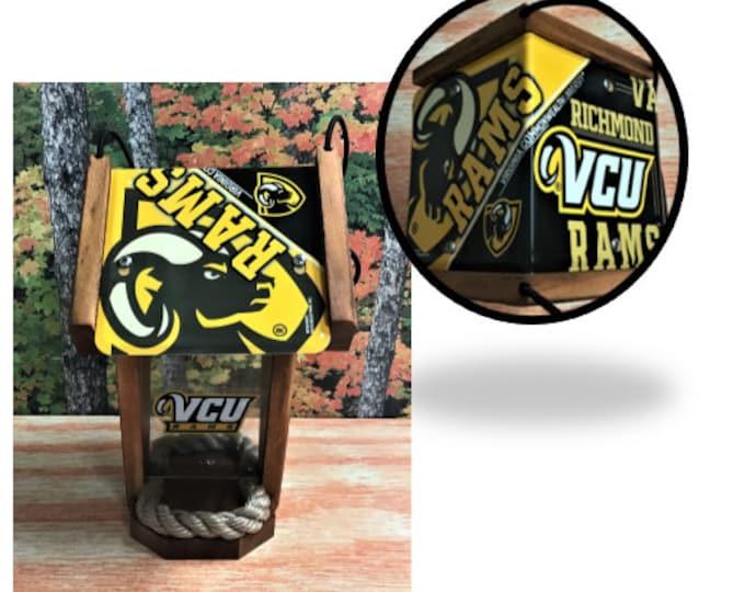 VCU (Rams) Two-Sided Cedar Bird Feeder (SI Series)