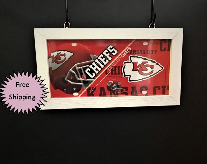 Kansas City Chiefs License plate frame