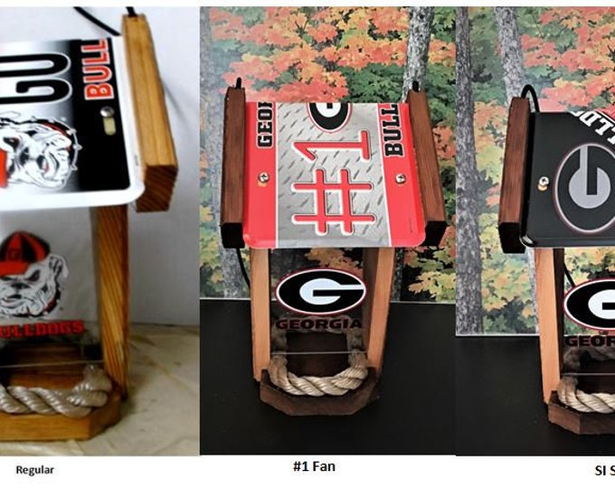 Georgia Bulldogs Two-sided Bird Feeder (3 styles to choose)