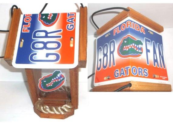 Florida Gators Two-Sided Cedar Bird Feeder (Style #1)