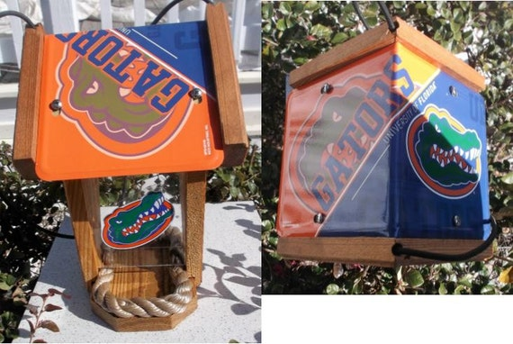 Florida Gators Two-Sided Cedar Bird Feeder (SI Series))