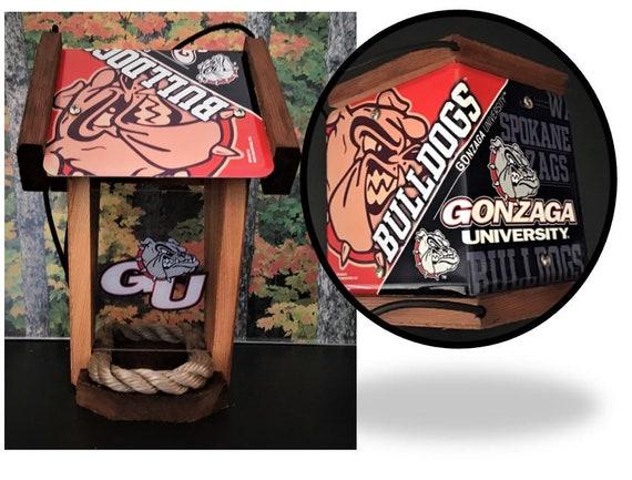 Gonzaga University Two-Sided Cedar Bird Feeder (SI Series)