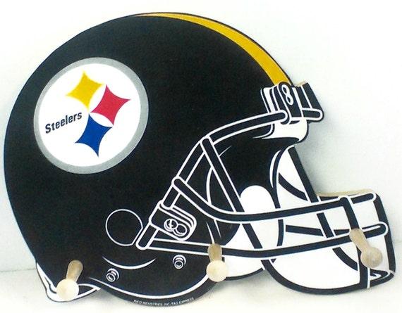 Pittsburgh Steelers Cap & Jacket Peg Hanger