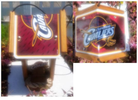 Cleveland Cavaliers Cedar Two Sided Bird Feeder