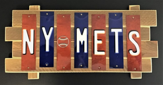 NY Mets Color Fun  Strip Sign