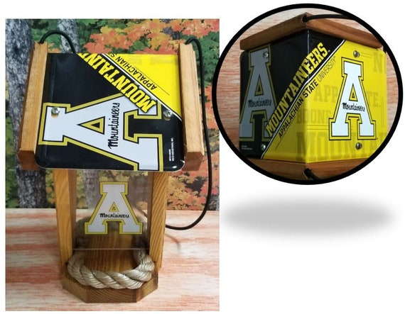 Appalachian State Two-Sided Cedar Bird Feeder (SI Series)