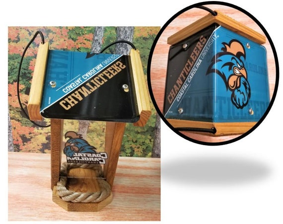 Coastal Carolina Two-Sided Cedar Bird Feeder (SI Series)