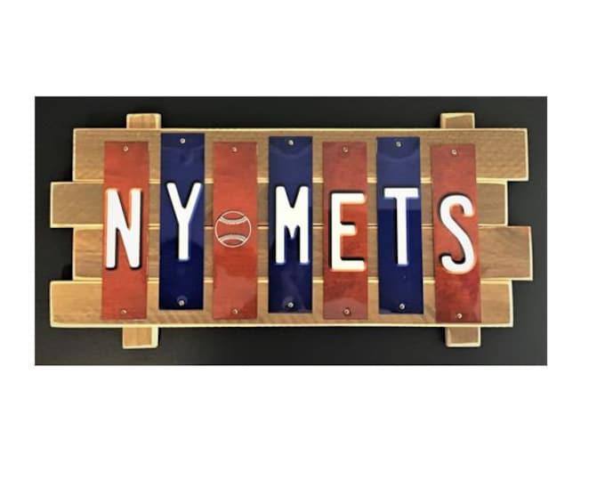 NY Mets Color Fun  Strip Sign