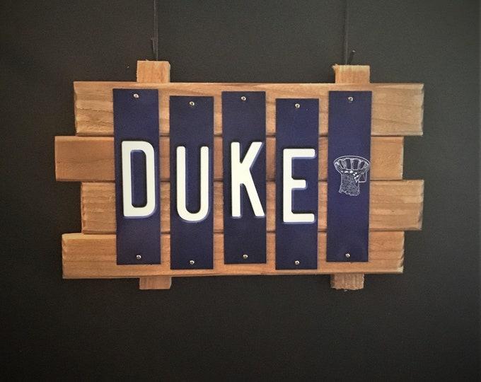 Duke University Fun Strip Sign