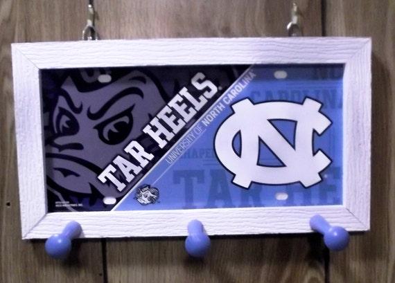 Carolina Tar Heel License Plate Peg Hanger (SI series)