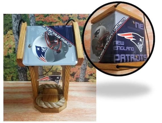 New England Patriots Two-Sided  Cedar Bird Feeder (SI series)