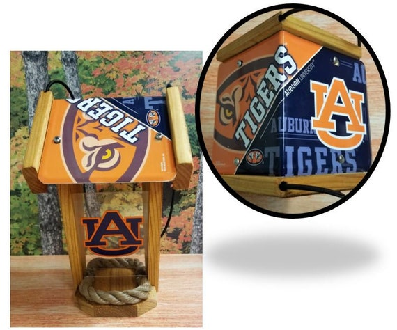 Auburn University Two-Sided Cedar Bird Feeder (SI Series)