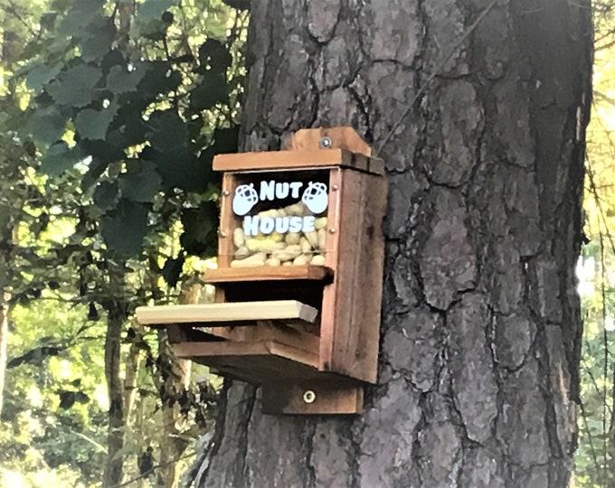 Peanut Cedar Squirrel Feeder