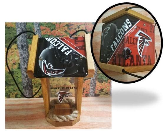 Atlanta Falcons Two-Sided Cedar Bird Feeder (SI series)