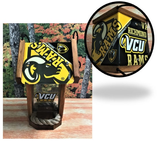 VCU (Rams) Two-Sided Cedar Bird Feeder (SI Series)