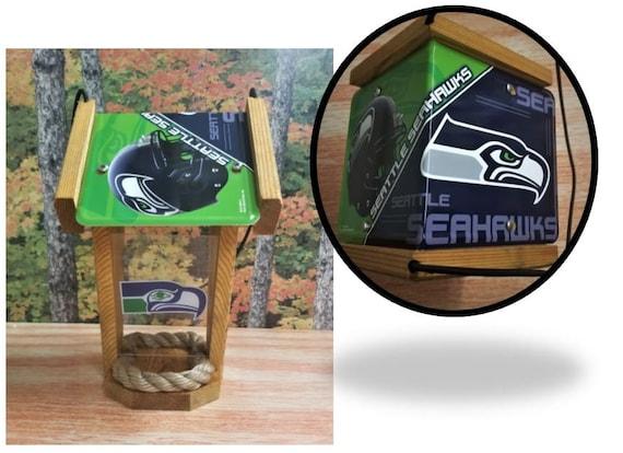 Seattle Seahawks Two-Sided Cedar Bird Feeder (SI Series)