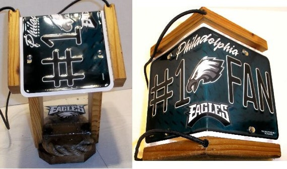 Philadelphia Eagles Two-Sided Cedar Bird Feeder