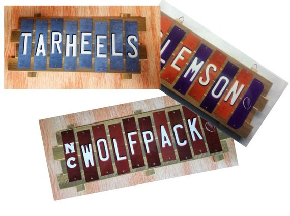College Cut Strip Sign Plaques