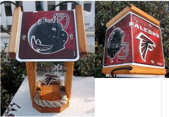 Atlanta Falcons Two-Sided Cedar Bird Feeder