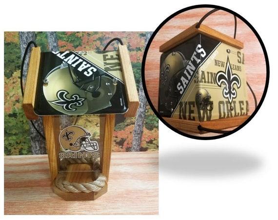 New Orleans Saints Two-Sided Cedar Bird Feeder (SI series)