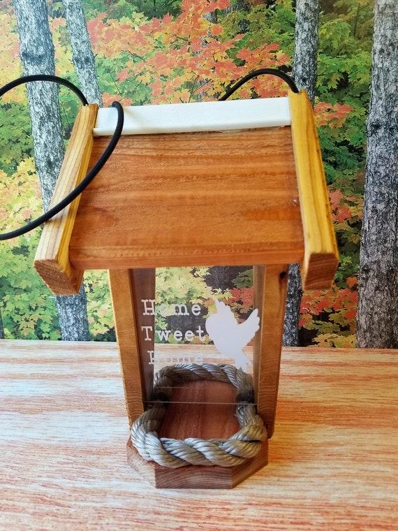 Home Tweet Home Two-Sided Cedar Bird Feeder