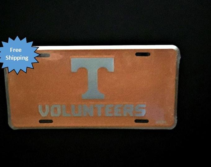 Tennessee Volunteers Mosaic Aluminum License Plate