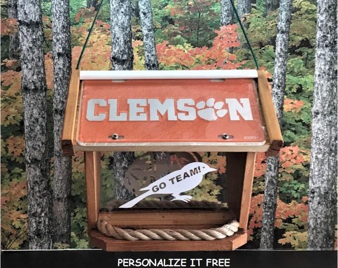 Clemson Deluxe Cedar Two Sided Bird Feeder