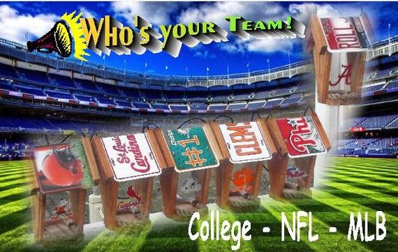 NFL Bird Feeders by Sporty Crafts