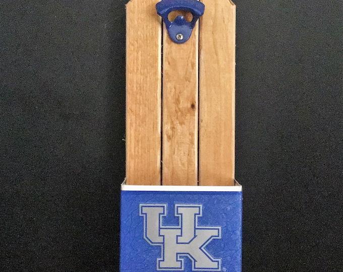 University of Kentucky (UK) Bottle Opener