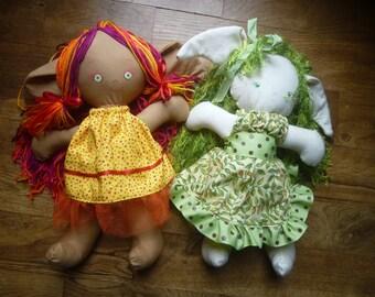 ragdolls, mimins, woodland fantasy dolls