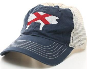 f4c4aaced authentic alabama flag hat 708b6 c0f6e