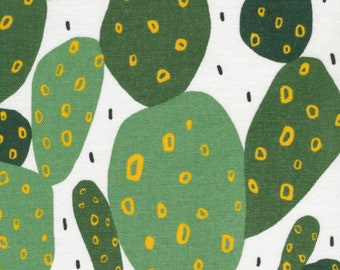 CACTUS, Wildlife Collection, Ophelia Pang, Canvas , organic cotton, cloud nine fabrics, 10 oz canvas , 57 58 inches wide
