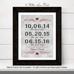 valentines day gift for her, valentines day ideas for him, personalized gift for husband, custom gifts for women men, print or canvas