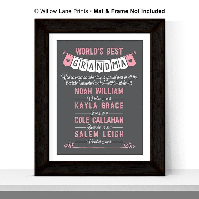 Christmas Gift for Grandmother Gift for Grandma Gift from image 0
