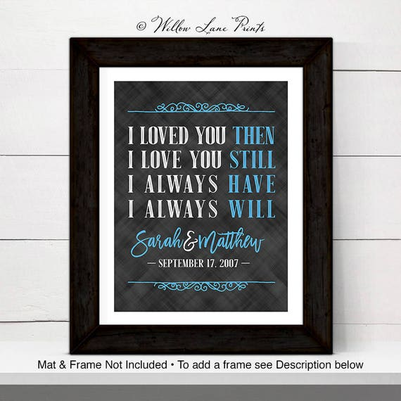 30th Anniversary Gift For Wife Or Husband 30th Wedding Etsy