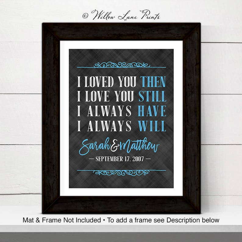 30th Anniversary Gift For Wife Or Husband 30th Wedding Anniversary