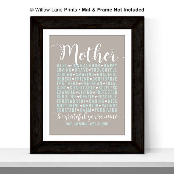 Personalized Mothers Day Gift Ideas Birthday For Mother From Daughter Son Presents Mom