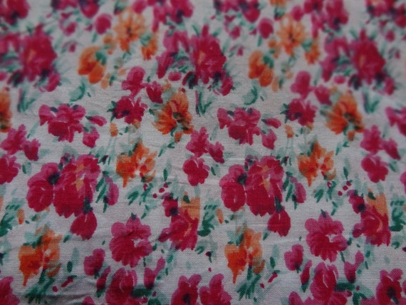 Dress Fabric Home Decor Fabric 41 Inch Cotton Fabric By The Yard ZBC5759 Floral Print Quilt Material Indian Fabric