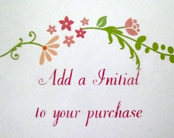 Personalize Your Jewelry. Add Initial, Initial, Letter, Alphabet, A-Z, Letter for Bracelet, Initial for Necklace, Initial for Bracelet