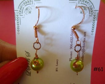 Clearance Sale: Dangle Earrings of all Different Types, Five Different Pairs on Each Listing, E61-65