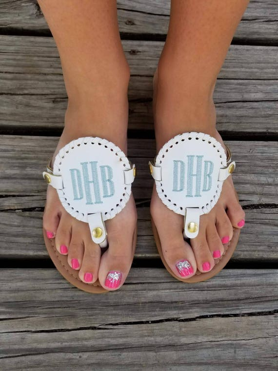 Sandals Flip Monogrammed Flops Summer Monogrammed Personalized Cute Monogram Medallion Flip Sandals Flops Personalized Sandals Sandals 6wawUgxq