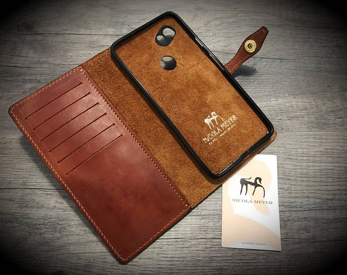 Goole Pixel 4 3A 3 2 1 and Pixel 4 3A 3 2 1 XL Leather Case Flip Wallet Bifold Style CHOOSE Device and Color
