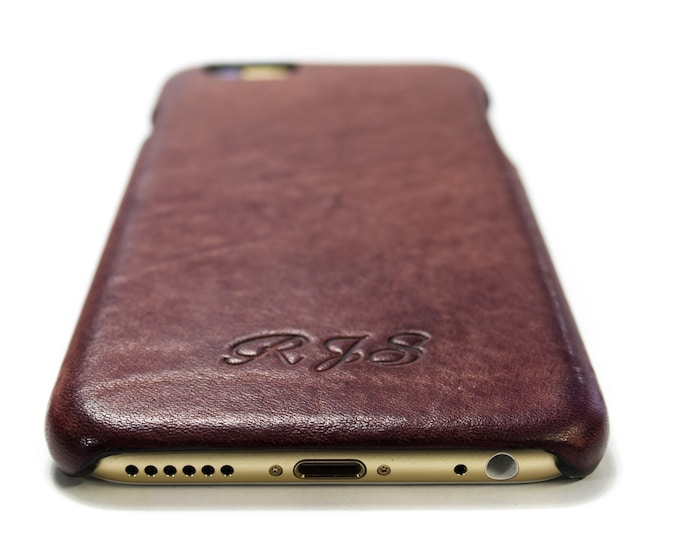 iPhone Leather Case made by Aged Washed leather for 11/11PRO/XS/XR/XsMax/8/7/6SPlus/SE/5s to use as protection choose Body colour