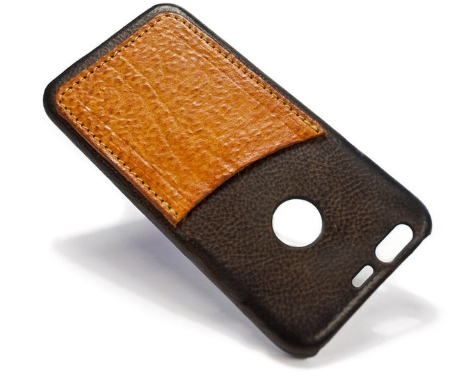 Goole Pixel 3 (small one) Italian Leather Case Classic or Washed or Aged  to use as protection Choose COLORS