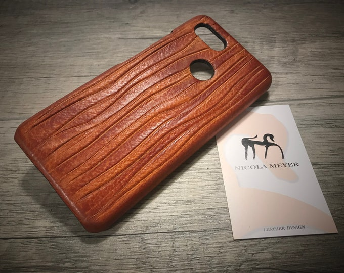 Creative Line: HANDCUT Google Pixel 3 and Pixel 3 XL Italian Leather Case Choose the Device and Color