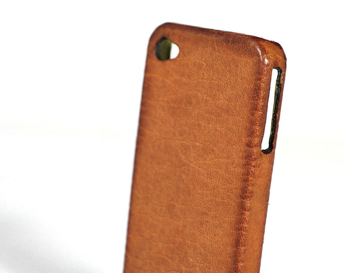 """iPhone Leather Case Washed for 7 4.7"""" or 7 Plus 5.5"""" 6S or 6S Plus or iPhone SE or 5S or 4S or 5C to use as protection colour CHOOSE"""